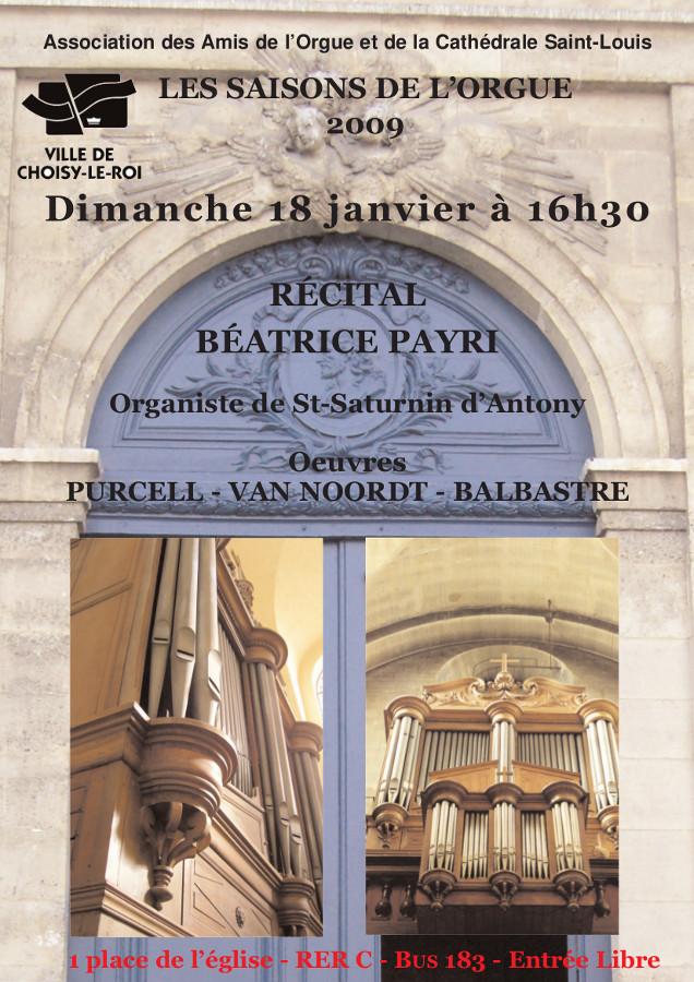 AOC-Choisy.Orgue.Affiche.Concert.2009.01.18