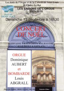 AOC-Choisy.Orgue.Affiche.Concert.2009.12.13