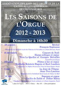 AOC-Choisy.Orgue.Affiche.Saison.2012-2013