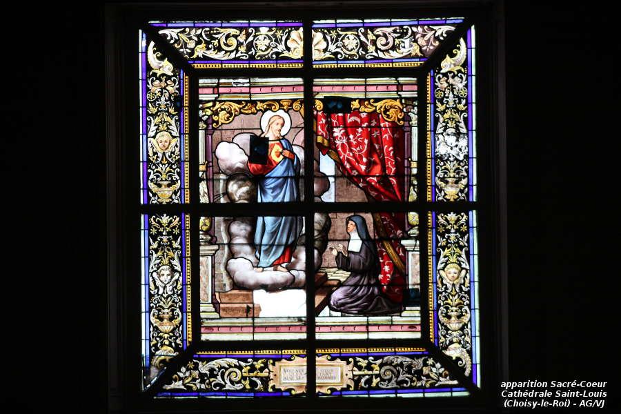 AOC-VJ.Choisy.Cathedrale.Vitrail Apparition Sacré-Coeur.01