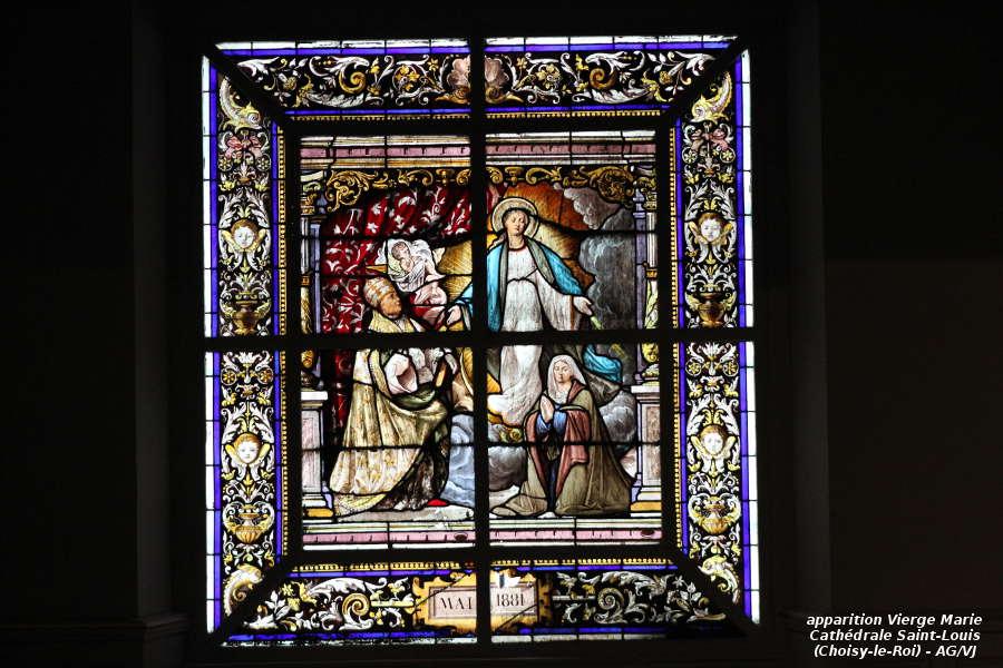 AOC-VJ.Choisy.Cathedrale.Vitrail Apparition Vierge Marie.01